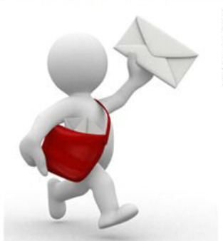 Entregando correo