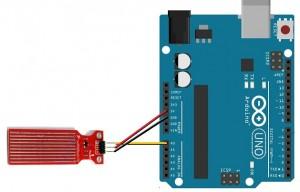 Arduino rain drop sensor