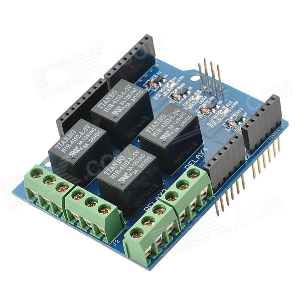 SHield de reles Arduino