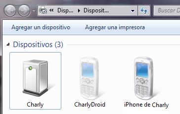 Dispositivos Bluetooth
