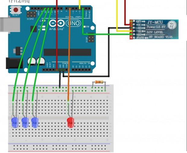 Arduino Communications - Combustory