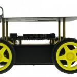 Girando con un Rover 4×4
