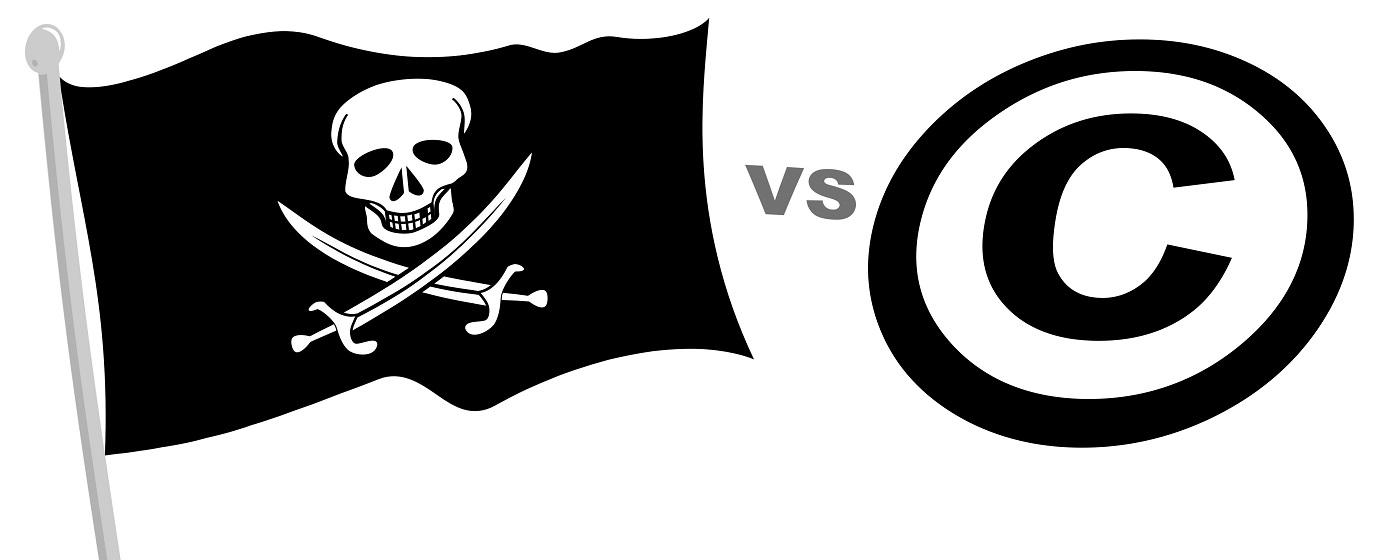 piratas contra derechos