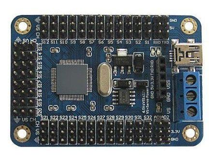 Controlador con Arduino integrado onboard