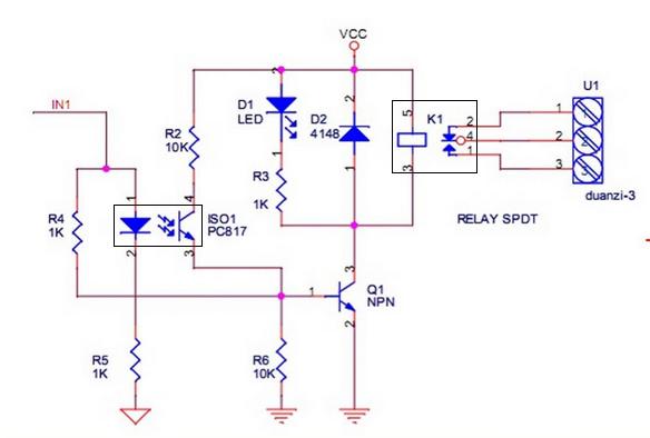 esquema electronico