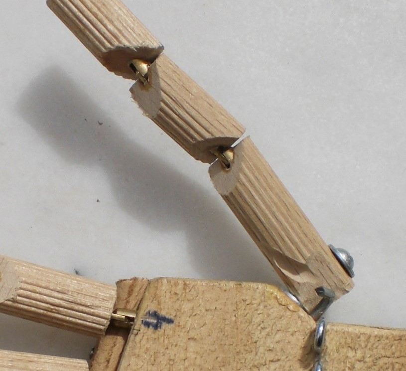 Detalle del pulgar