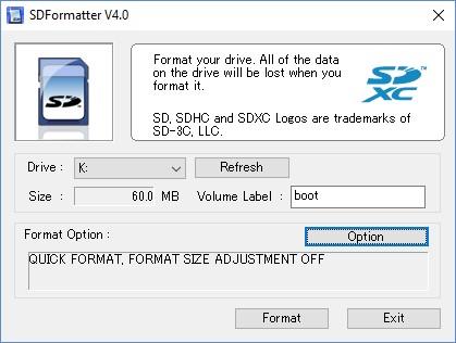 programa para formatear SD