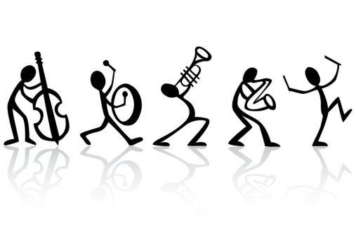 4 musicos