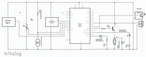 diagrama electrónico sensores actuaddores domótica