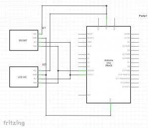 montaje componentes I2C