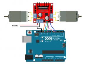 l298 scratch for arduino