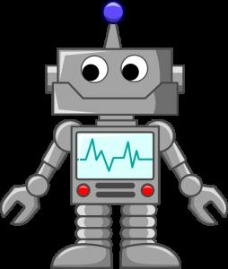 dibujo robot