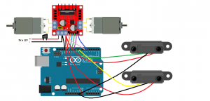 montaje robot rastreador