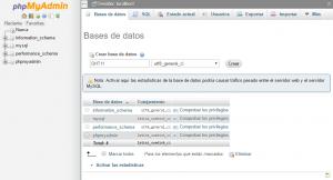 servidor raspberry base de datos