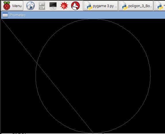 Dibujando un circulo completo