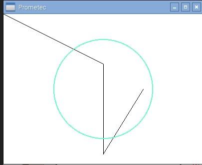 Lineas y circulos
