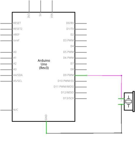 Circuito Zumbador Piezoelectrico : Buzzers o zumbadores tienda y tutoriales arduino