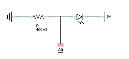 Flame sensor circuit