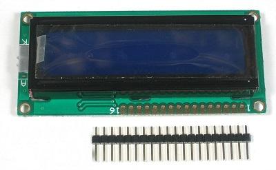 detalle LCD 16x2