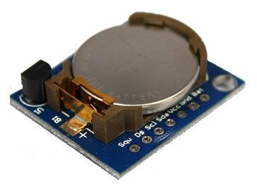 Reloj con bateria RTC clock