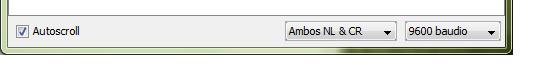 Configurar puerto serie