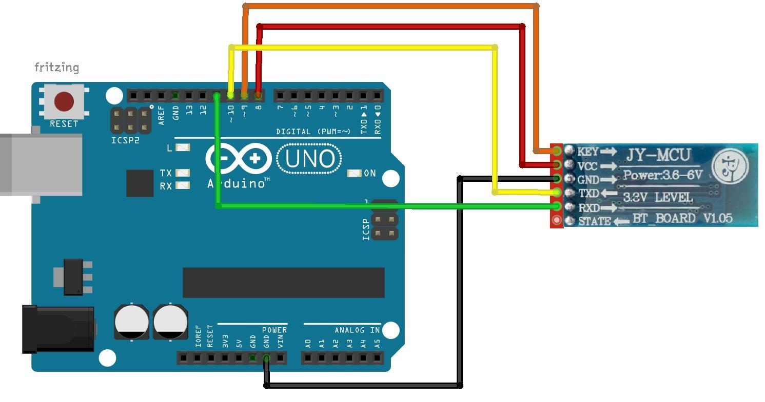 Diagrama de protoboard