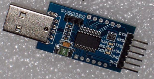 USB para protoboard