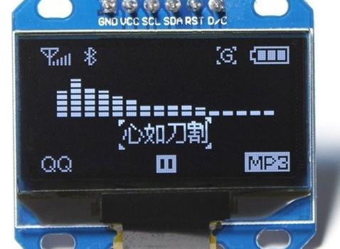 Display de 128x64 pixels
