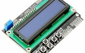 Shield con LCD 16x2 y varias teclas
