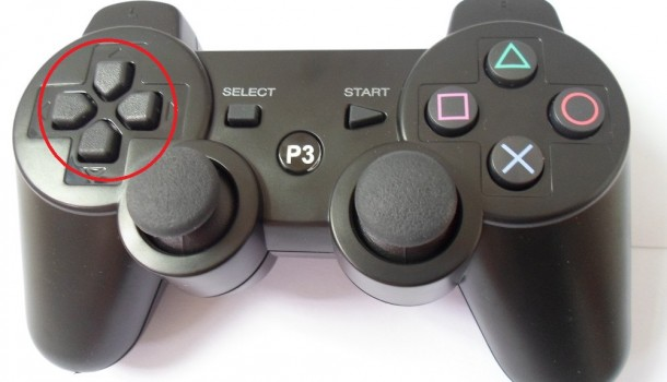 Detalle botones analogicos