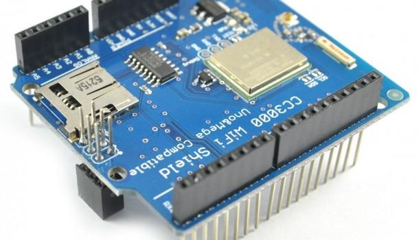Shield basado en CC3000