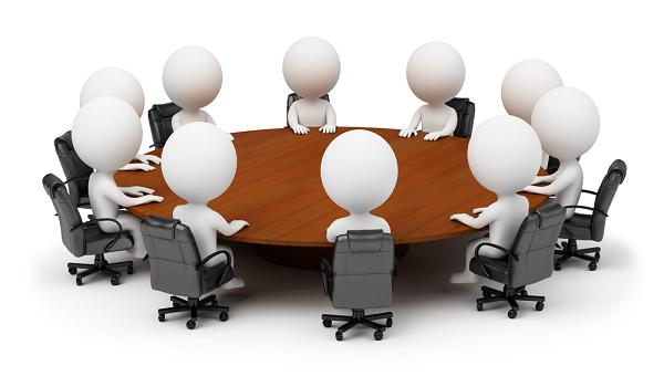 Imagen de una reunion