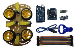 Conjunto de piezas del robot