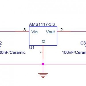 Esquema de circuito regulador