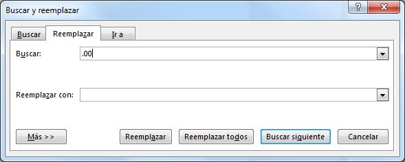 Reemplazando datos en Word