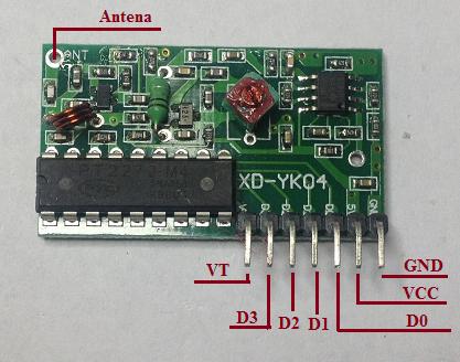 Control Remoto Rf Sencillo Tienda Y Tutoriales Arduino