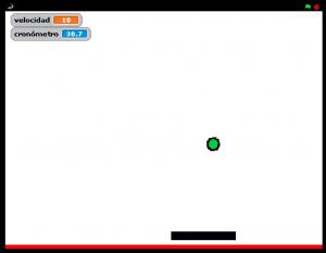 jugando pong 1 jugador