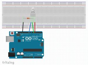 diagrama protoboard rgb