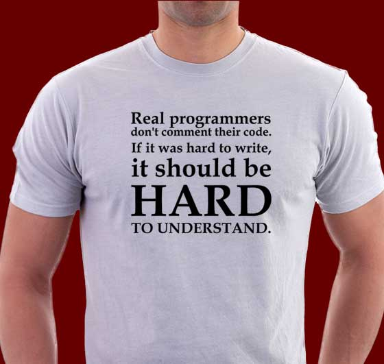 Real coders