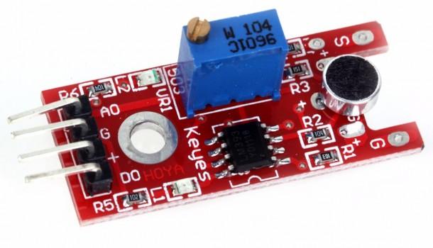 sensor sonido s4a