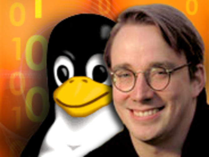Linux founder