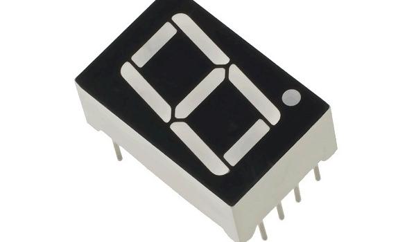 un dígito display