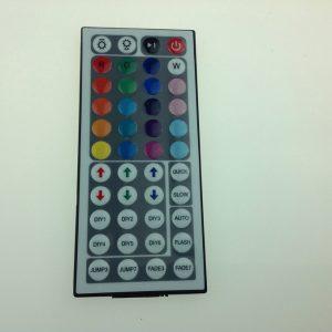 Detalle del mando infrarojos
