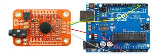 montaje módulo reconocimiento voz arduino