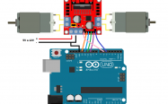 l298 scratch for arduino