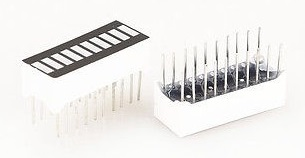 10 Led integrados en un chip