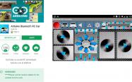aplicación bluetooth