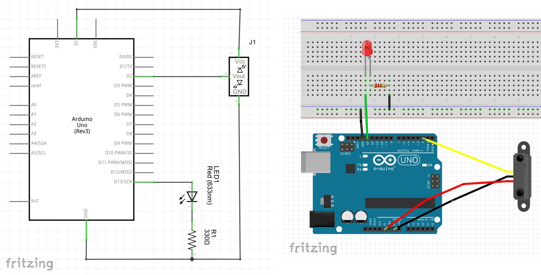 Circuito Emisor Receptor : Circuito emisor receptor infrarrojo y arduino