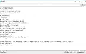 esp8266 cliente servidor