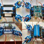 Robot cuadrúpedo: introducción y montaje